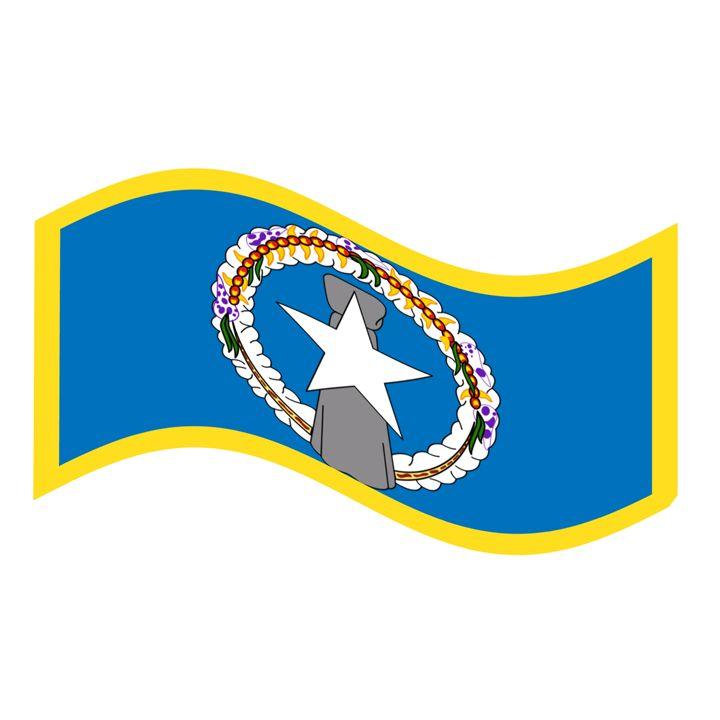 Northern Marianas Flag - My Evil Twin