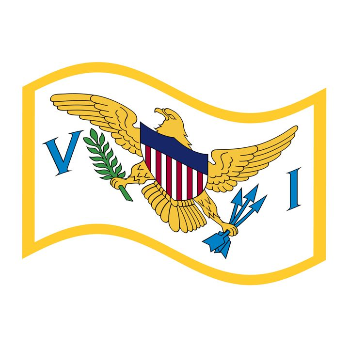 United States Virgin Islands Flag - My Evil Twin