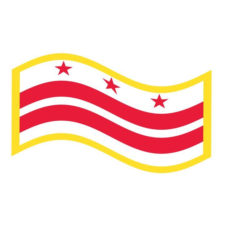 Washington, D.C. Flag - My Evil Twin