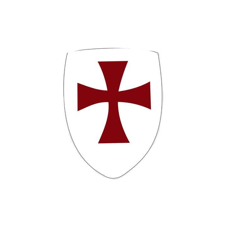 Knights Templar Shield - My Evil Twin