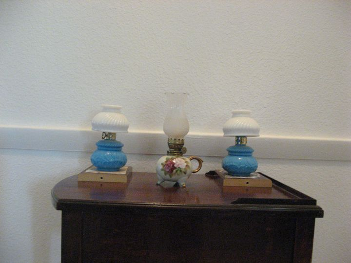 Miniature Oil Lamps - My Evil Twin