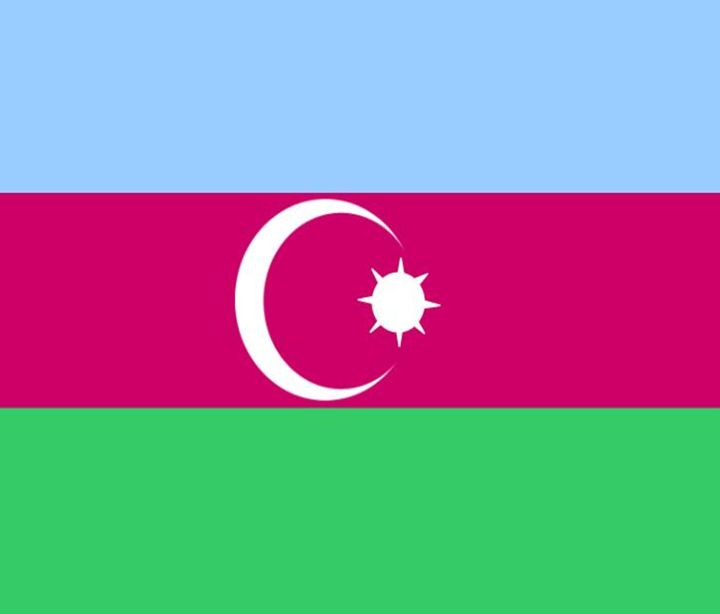 Azerbejian Flag - My Evil Twin