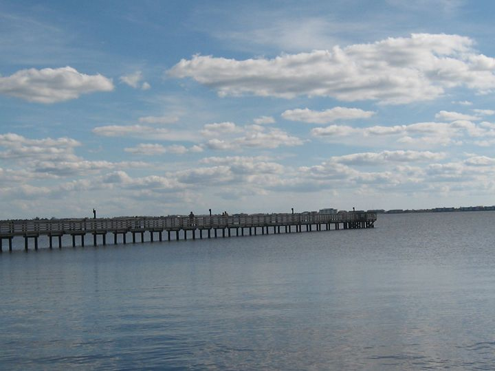 A Fishing Pier - My Evil Twin