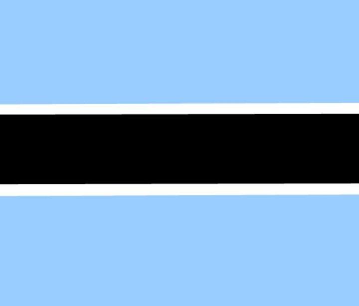 Botswana Flag - My Evil Twin