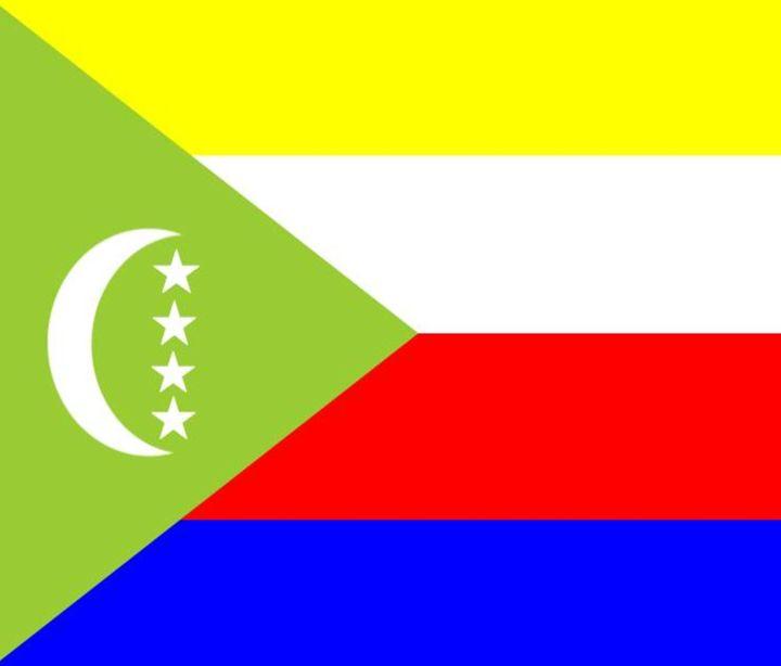 Comoros Flag - My Evil Twin
