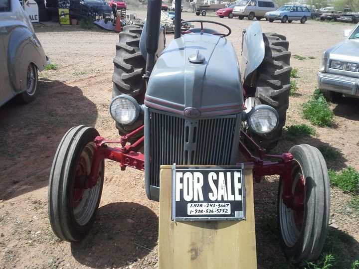 Antique Ford Farm Tractor - My Evil Twin