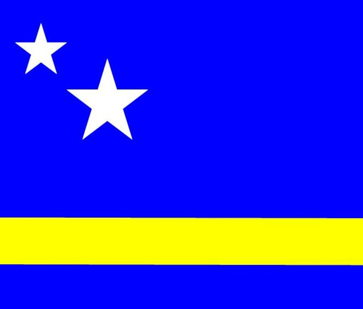 Curacao Flag - My Evil Twin