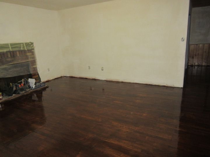 Refinished Wood Floor - My Evil Twin