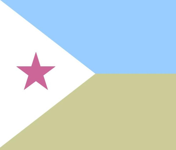 Djibouti Flag - My Evil Twin