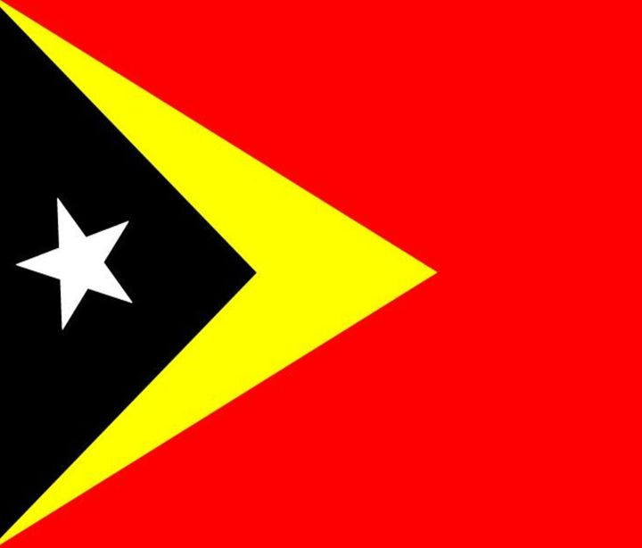 East Timor Flag - My Evil Twin