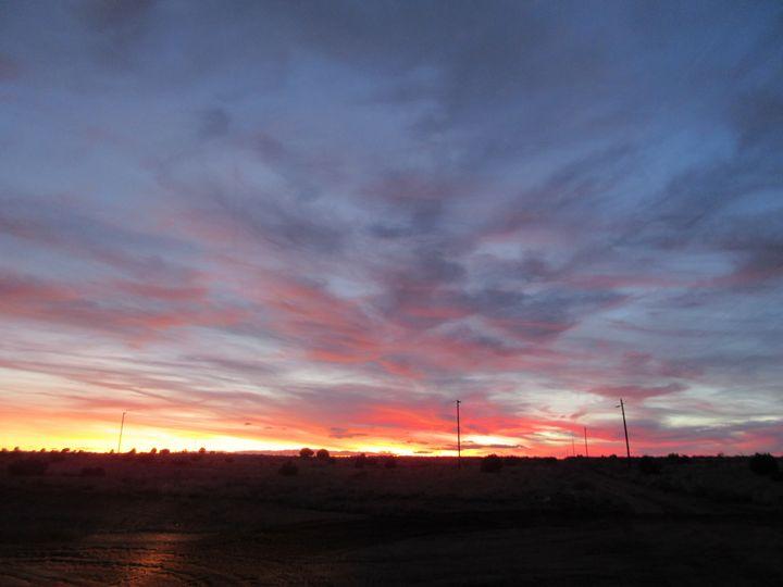 Winter Sunset #2 - My Evil Twin