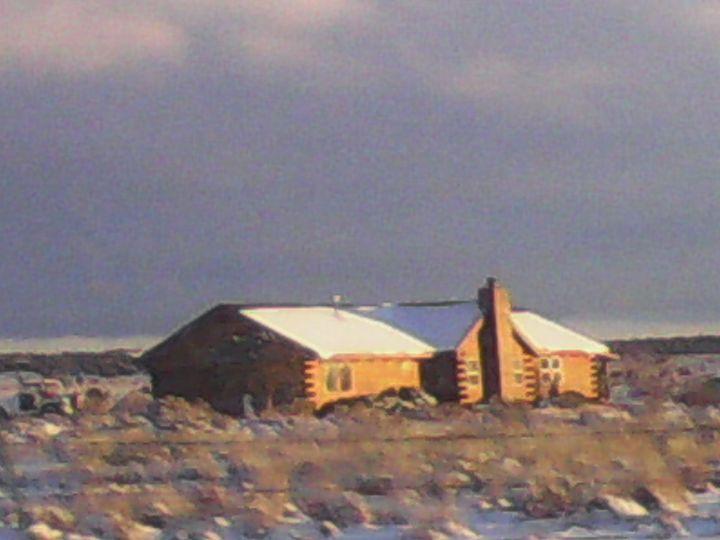 Snowy Desert Cabin - My Evil Twin