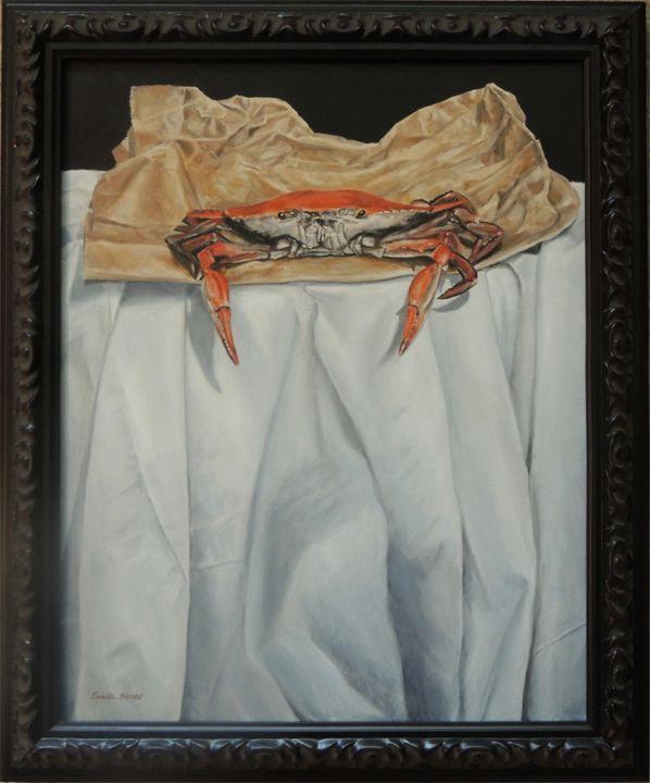 Feeling Crabby - Camille Barnes Studio