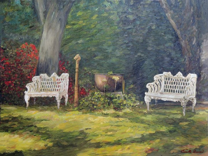 A Resting Place - Camille Barnes Studio