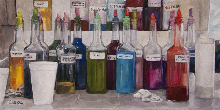Snowball Bottles - Camille Barnes Studio