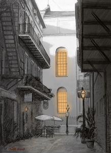 Light in the alley - Camille Barnes Studio