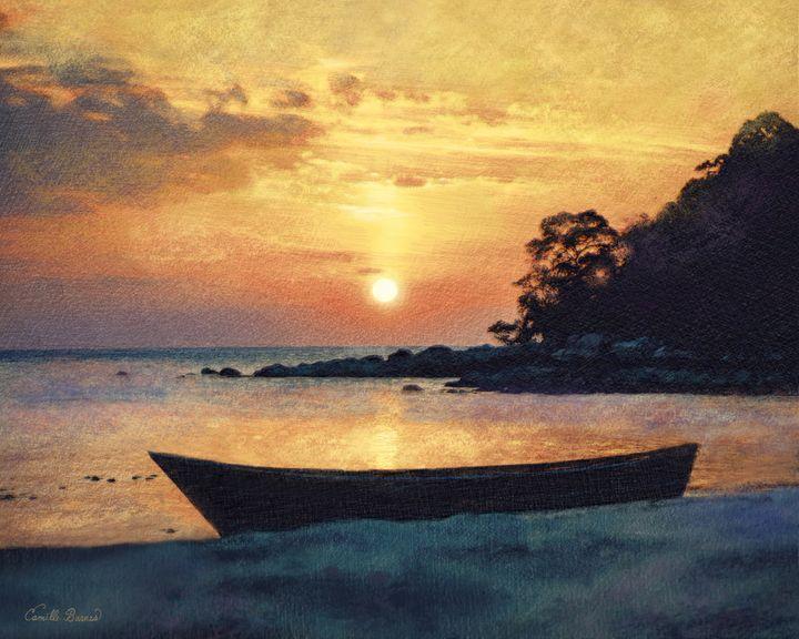 If I had a boat - Camille Barnes Studio