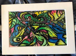 A Circus of Light - 4x6 Art Print