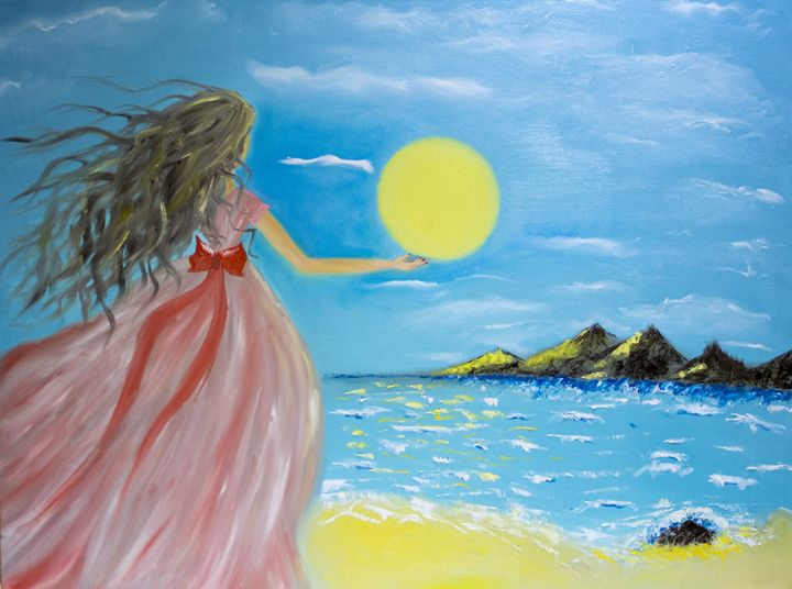 Girl and The sun - Inga Ingaa