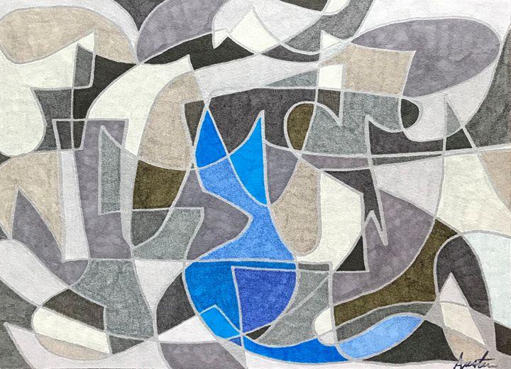 Blue Cat - Jon Austin
