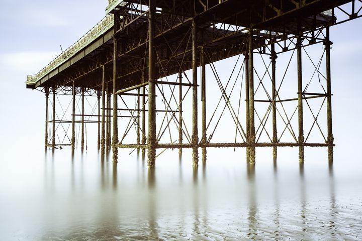Under the Pier. - DAVID HUNTER PHOTOGRAPHY