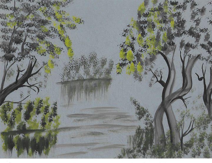 yellow bent - Yeeba Art