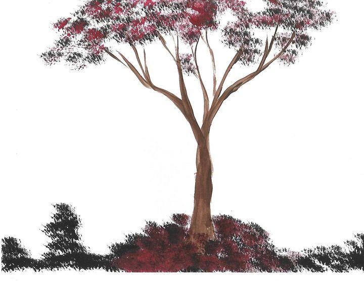 Red Tree - Yeeba Art