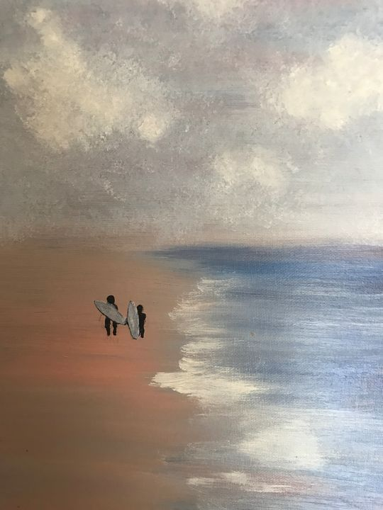 Surf City USA - Sallylu of Noah's Art