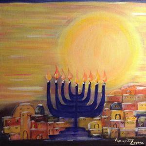 Chanukah is bright! - Anne N. Tissera