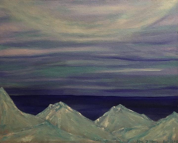 Ice mountain - Anne N. Tissera