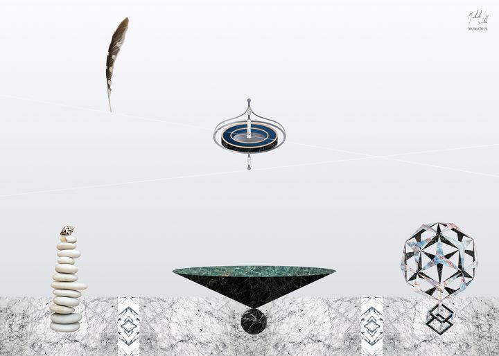 Equilibrium. Hanging in the balance. - Michele Vitti