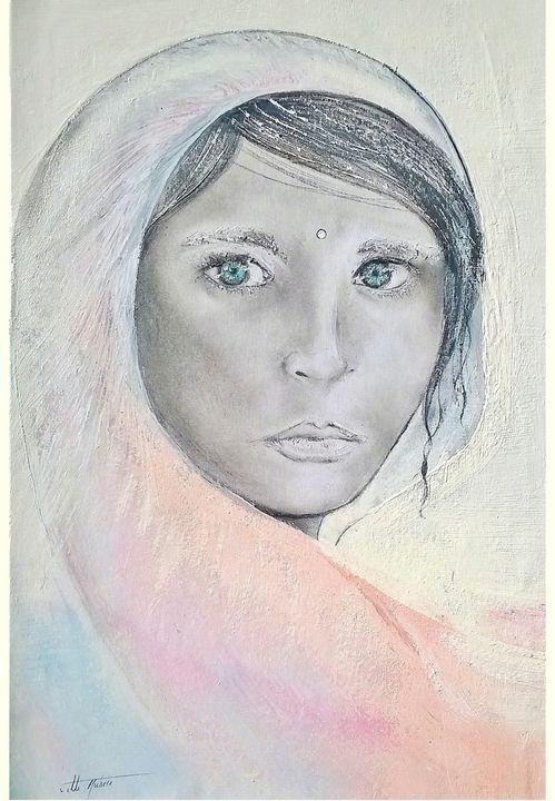 Woman potrait - Michele Vitti