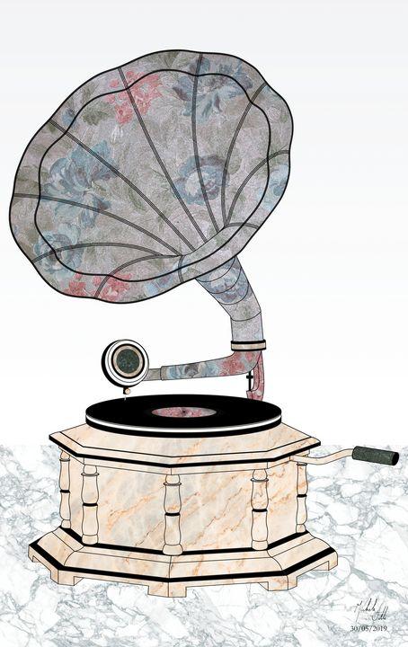 Gramophone. Hymn to music. - Michele Vitti