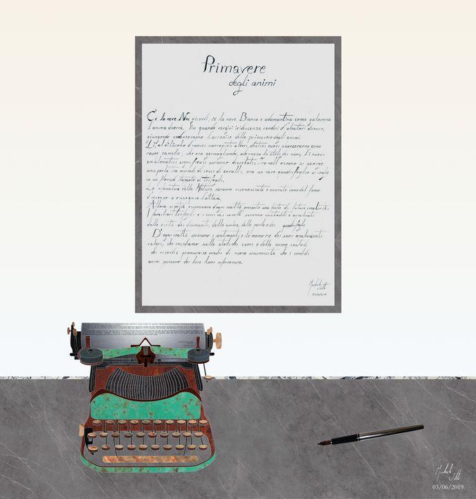 Hymn to writing - Michele Vitti