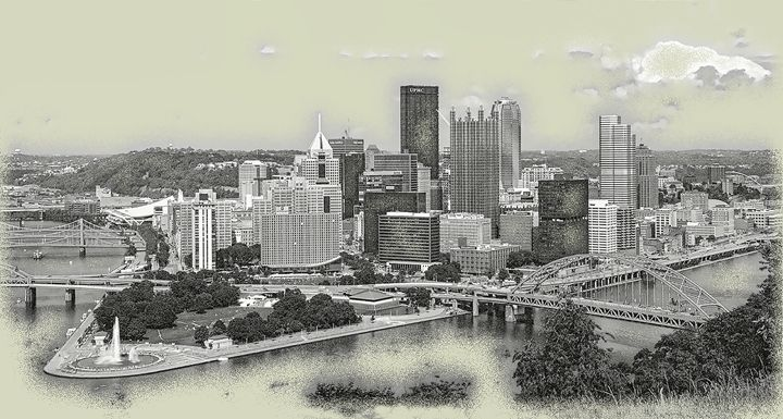 Steel City Retro - Sabra Image Prints