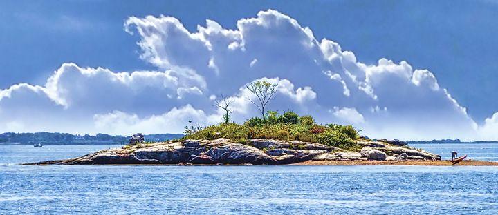 An Island For One - Sabra Image Prints