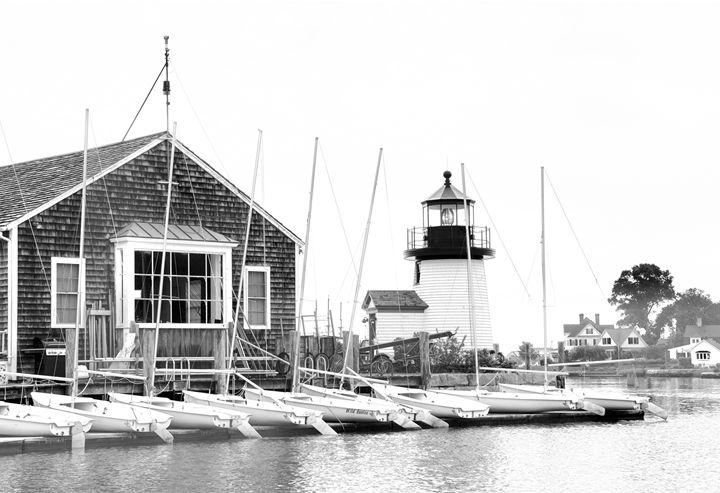 Boathouse, LIghthouse & Little Ones - Sabra Image Prints