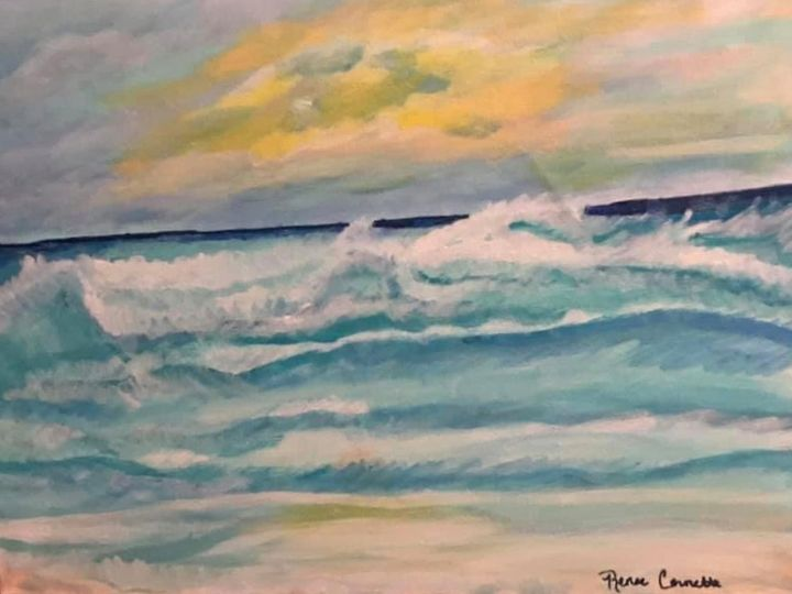 Dancing Waves: sold - Renee's Creations