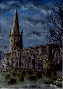 Church of St Mary de C., Leicester - Catherine Grochowska
