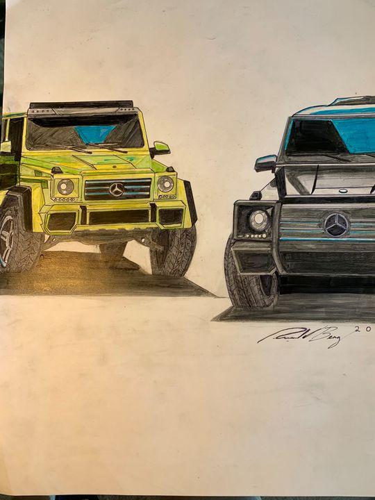 Mercedes GWagon - Classic_Car_Designs