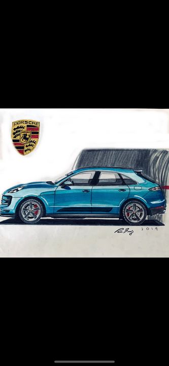Porsche Macan S - Classic_Car_Designs