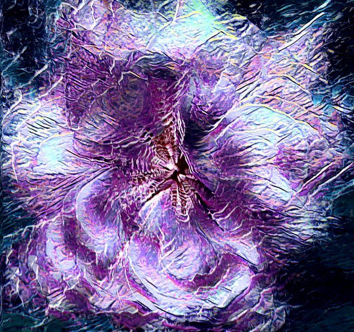 A FLOWER FOR ANNA - STEVEN SOLOMON'S ORIGINAL ARTWORK