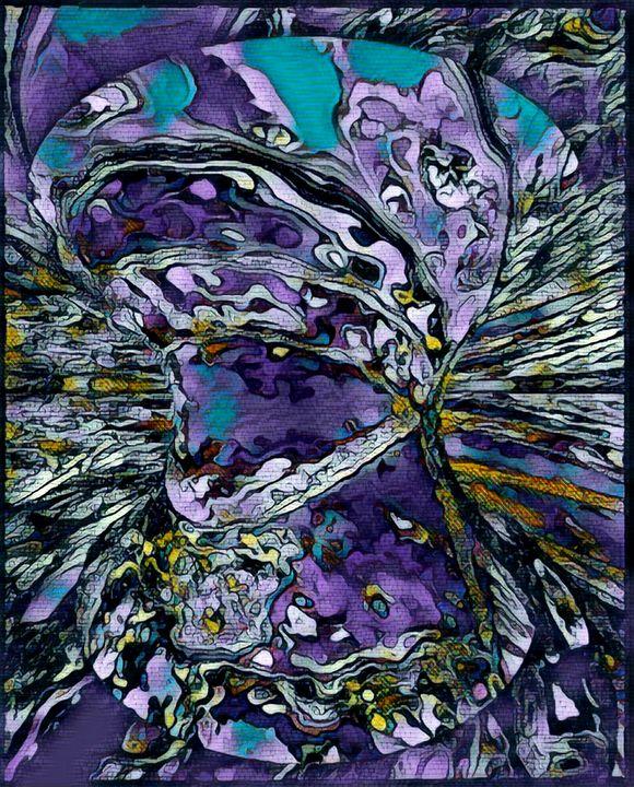 PURPLE PEOPLE EATER - STEVEN SOLOMON'S ORIGINAL ARTWORK