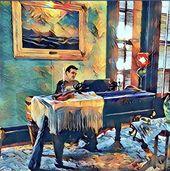 STEVEN SOLOMON'S ORIGINAL ARTWORK