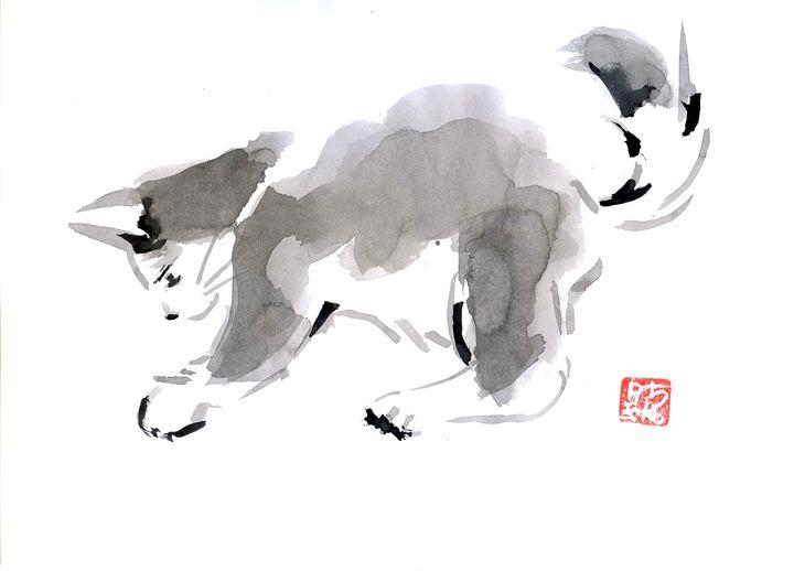 Tha Cat - Pechane Sumi-e