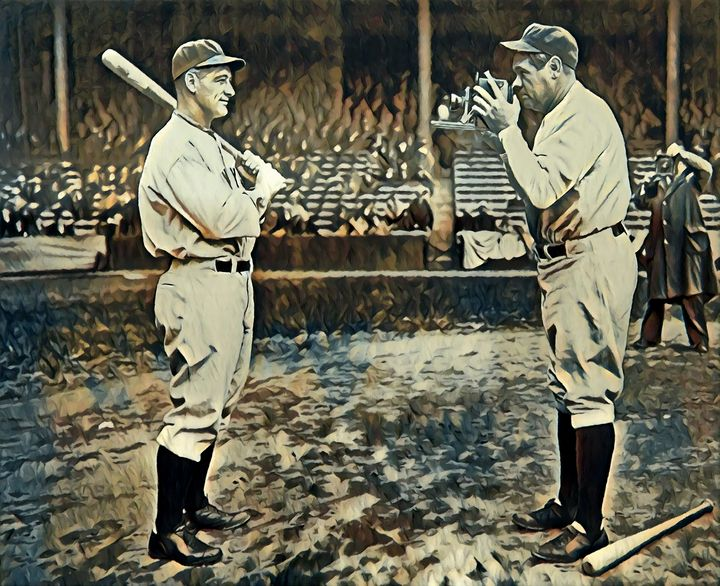 Gehrig & Ruth 1, New York Yankees - Gallery 18