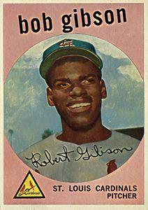 Bob Gibson 1, 1959 Topps