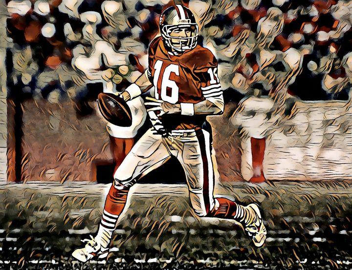 Joe Montana 1, San Francisco 49ers - Gallery 18