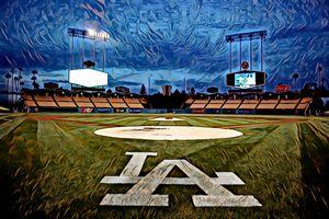 Dodger Stadium 3, Los Angeles, CA