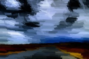 Lost Highway Abstract - Gallery 18